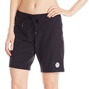 """Body Glove Women's Smoothies Solid 8"""" Boardshorts"""